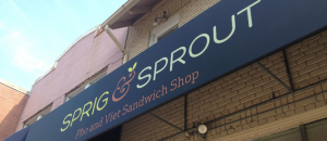 sprig and sprout sign